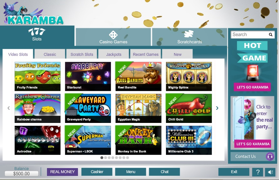 karamba online casino video slots