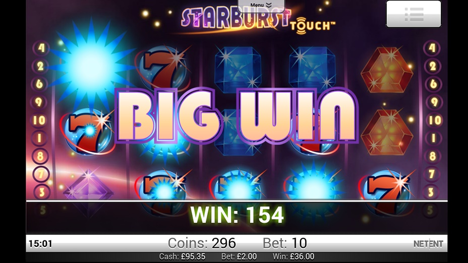 mobile casino free spins starburst