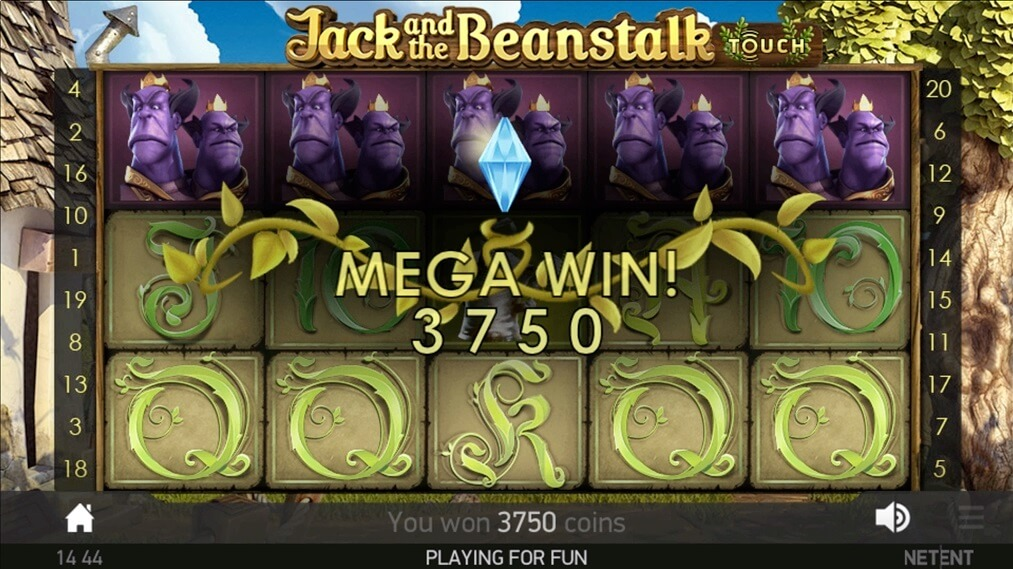jack and the beanstalk slot screen shot review